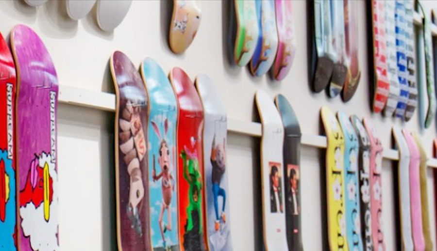 COMPLETE SUPREME SKATEBOARD COLLECTION TO BE AUCTIONED BY SOTHEBY'S