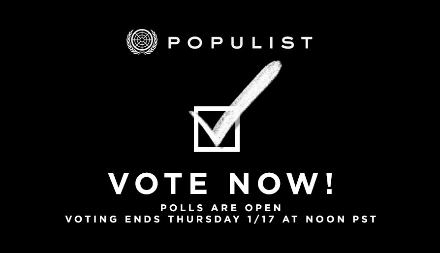 VOTE FOR POPULIST 2018 NOW