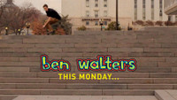 THIS MONDAY… BEN WALTERS 'I AM BLIND' PART