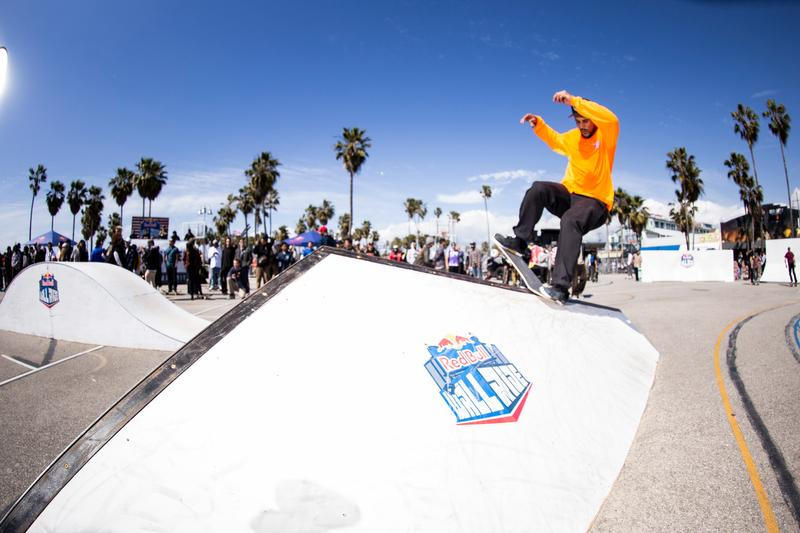 RED BULL'S WALLRIDE CONTEST IN VENICE—GALLERY DAVE SWIFT SKATEBOARIDNG