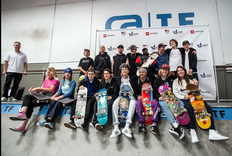 TEAM AMERICA'S SWEET SIXTEEN: THE 2020 OLYMPICS SKATEBOARDERS HAVE BEEN ANNOUNCED