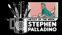 ARTIST OF THE WEEK: STEPHEN PALLADINO