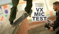WOODEN CAMERA VX MICROPHONE TEST