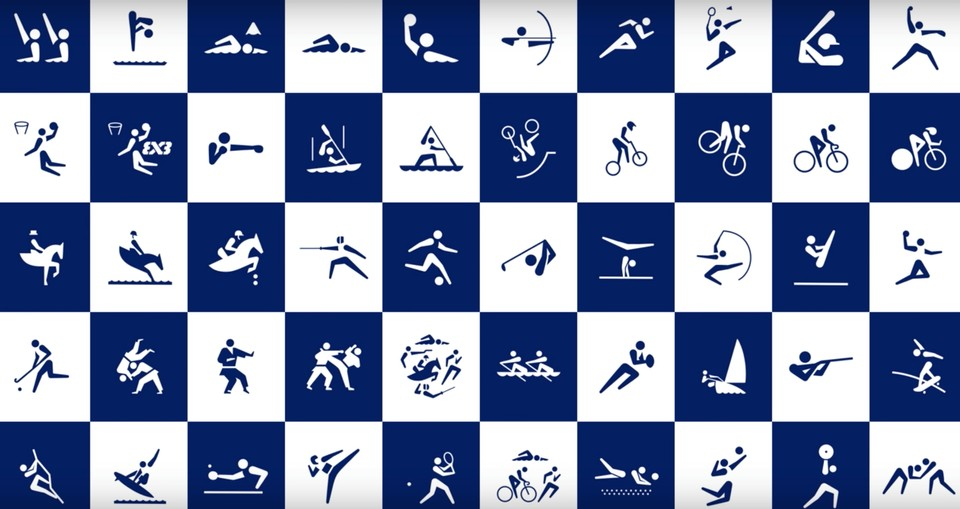 OFFICIAL TOKYO 2020 OLYMPICS PICTOGRAMS RELEASED