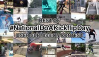 AND THE WINNER OF OUR 'NATIONAL DO A KICKFLIP DAY' CONTEST IS…