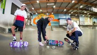 SKATE OR DICE WITH HOLLAND'S SEWA KROETKOV & THE RUSSIAN OLYMPIC TEAM