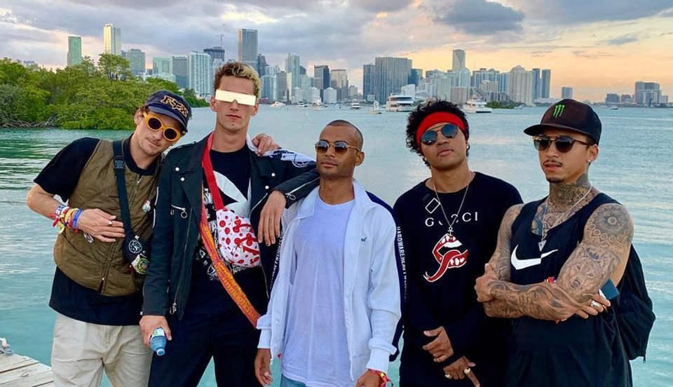 NYJAH HUSTON SENDS IT IN MIAMI FOR THE ULTRA MUSIC FESTIVAL