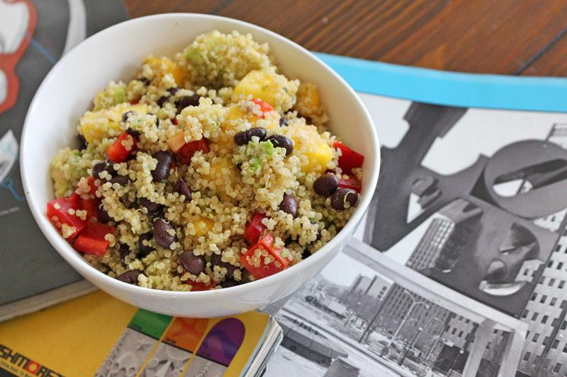 QUICK SESH QUINOA: SALAD GRINDS & BEAN PLANTS #78