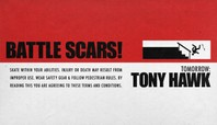 TOMORROW: TONY HAWK'S 'BATTLE SCARS'