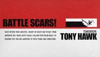 TOMORROW: TONY HAWK'S 'BATTLE SCARS'