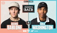 WBATB: Alexis Sablone Vs. Nika Washington