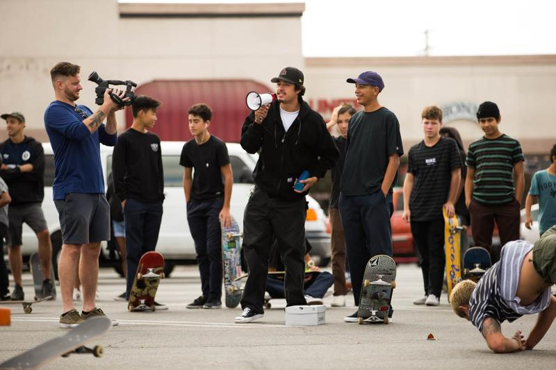 Yoonivision: CONS' Skate Shop Pit Stop With Louie Lopez