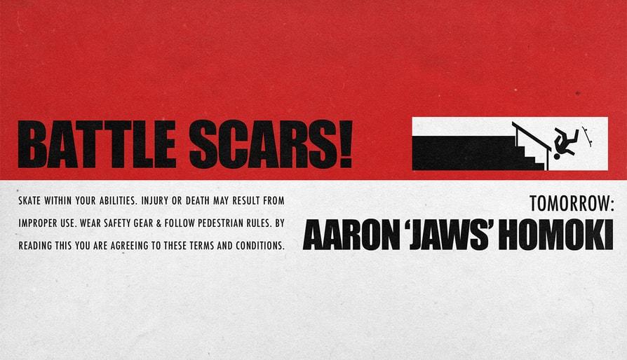 Tomorrow… Aaron 'Jaws' Homoki's Battle Scars