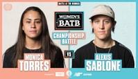 WBATB Championship Battle: Monica Torres Vs. Alexis Sablone