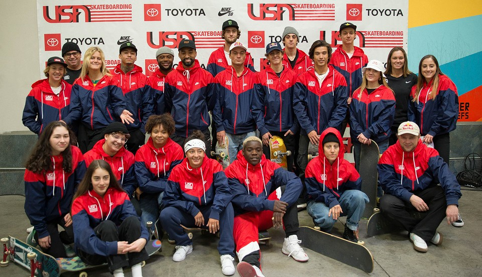 Team U.S.A. Skateboarding's Media Day At The Berrics