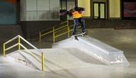 Donny Hixson's Lipslide 540 Kickflip