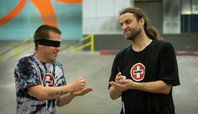 Unsanctioned Blindfold Battle: David Reyes Vs. Dan Mancina