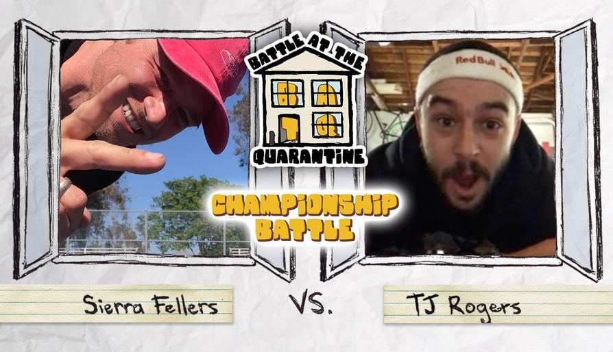 Sierra Fellers Vs. TJ Rogers: Battle At The Quarantine Championship