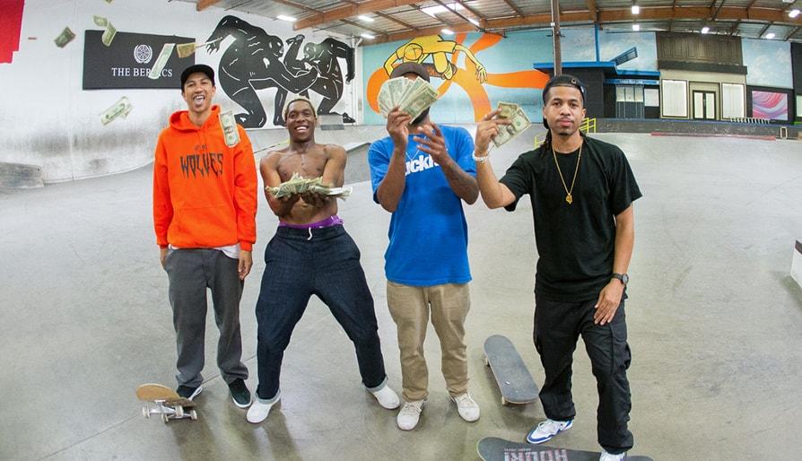 Skate Or Dice! With Leandre Sanders, Nick Tucker, Derrick Wilson & Kevin Romar