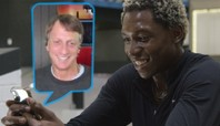 How To Turn Pro In 10 Days: Leandre Sanders Gets Advice From Tony Hawk