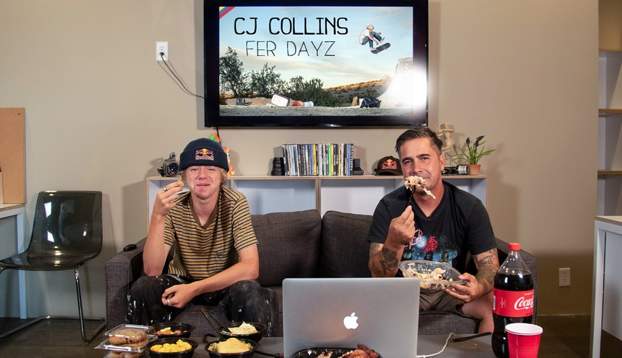 Dinner & a Movie With CJ Collins and Josh Henderson
