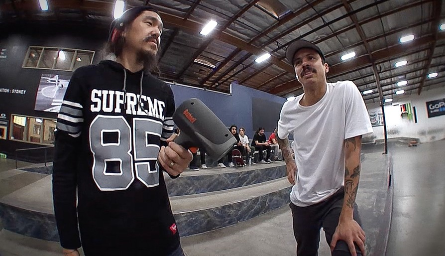 Greatest Of All Time: How Fast Can Luan 360 Flip?!