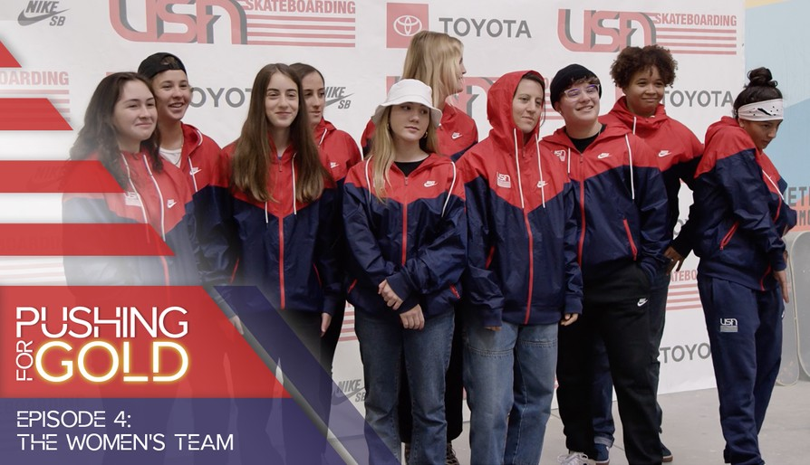 Pushing For Gold Episode 4: Introducing The Women's Team