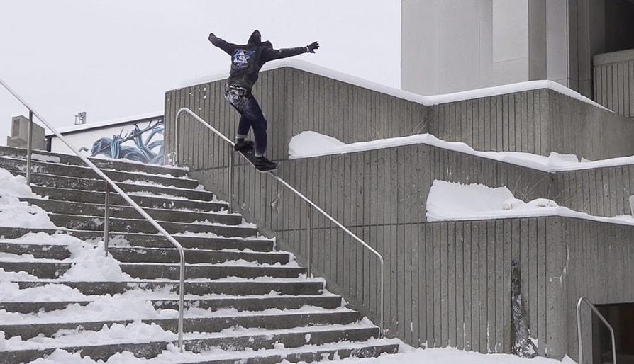 Dave Engerer's 'Sola Fide' Snowskate Part