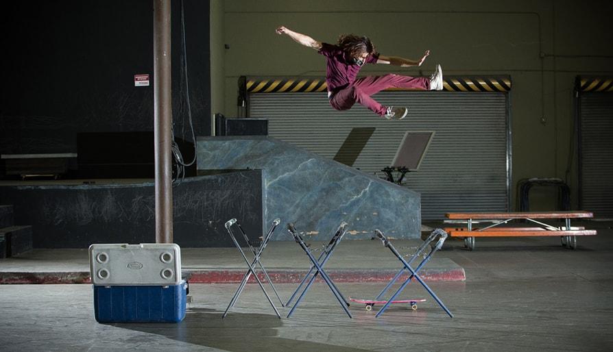 The Real Spider-Man Skateboarding: William Spencer