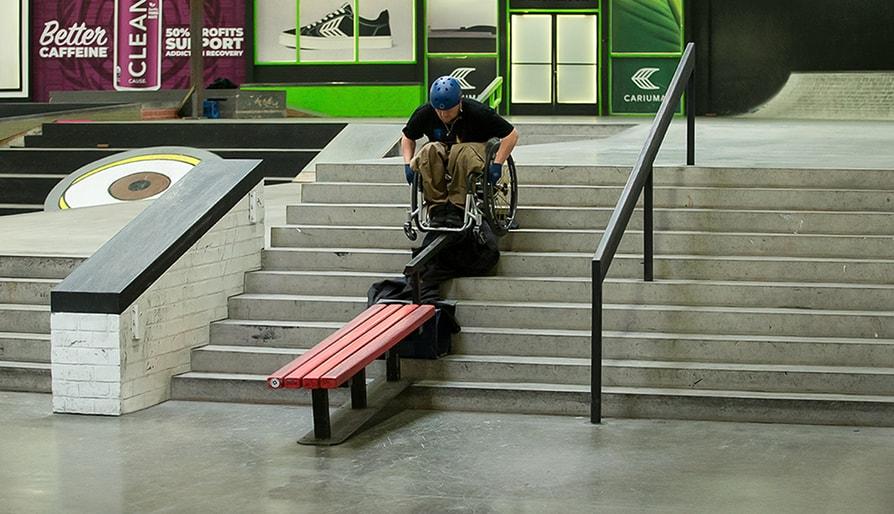 Skateboarding In a Wheelchair: Robert Thompkins's Story