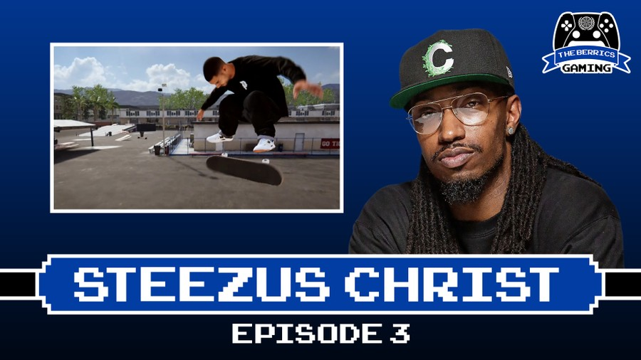 The Berrics Gaming: Episode 3 With Steezus Christ