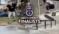 Here Are The U.S.A. Skateboarding National Championships Men's Street Finalists