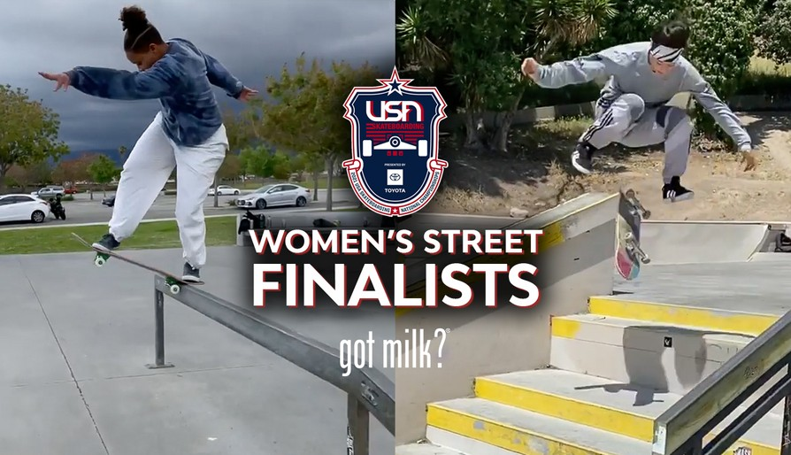Here Are The U.S.A. Skateboarding National Championships Women's Street Finalists