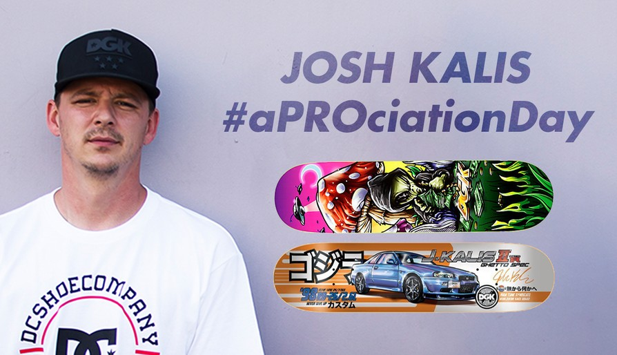 Josh Kalis Signed Decks Will Be Available Today In The Canteen!