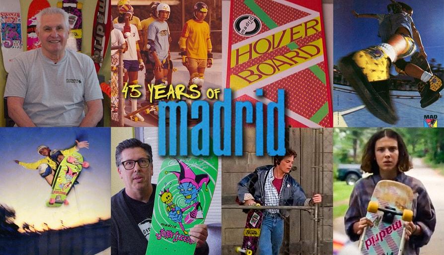 Madrid Skateboards: 45 Years Of Innovation