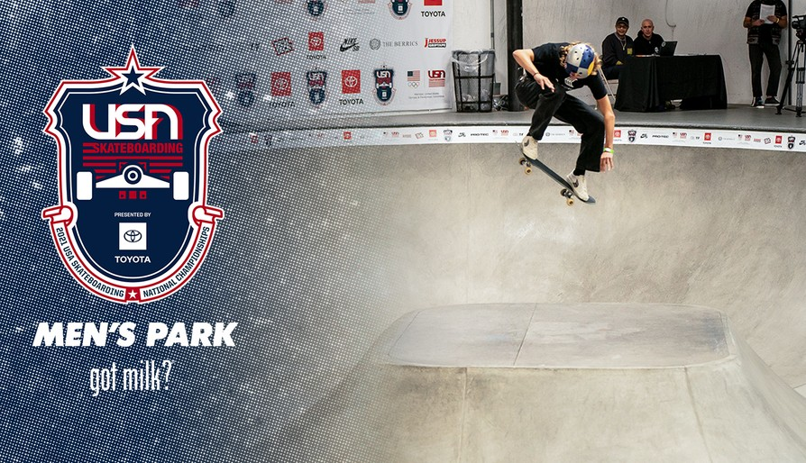 2021 USA Skateboarding National Championships Presented By Toyota Men's Park Finals