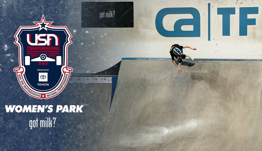 2021 USA Skateboarding National Championships Presented By Toyota Women's Park Finals