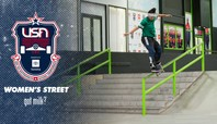 2021 USA Skateboarding National Championships Presented By Toyota Women's Street Finals