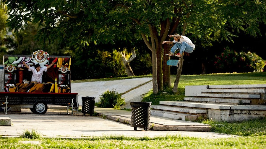 Nike SB Releases Collab Video With Athens' 'Color' Skateshop
