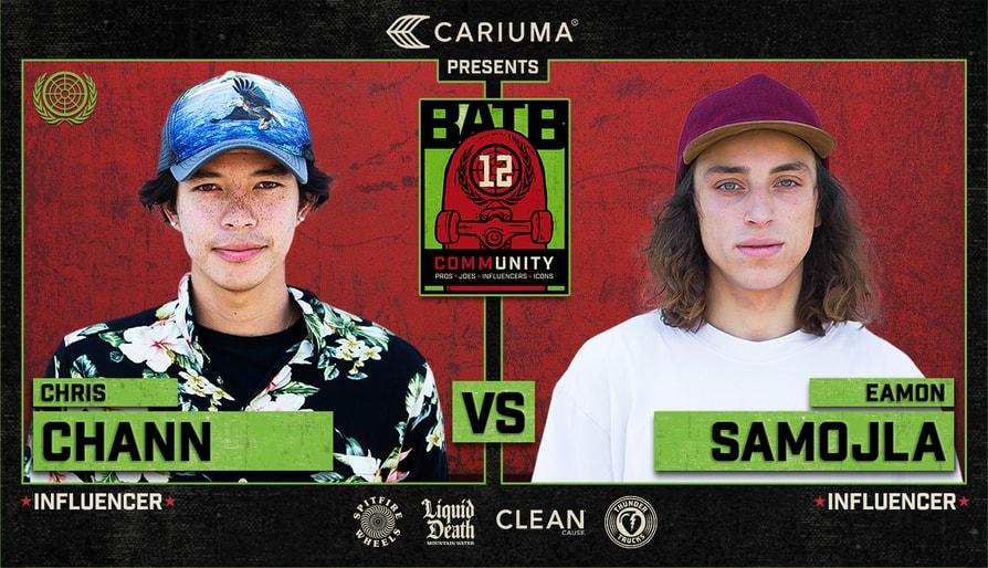 BATB 12 Influencer Battle: Chris Chann Vs. Eamon Samojla