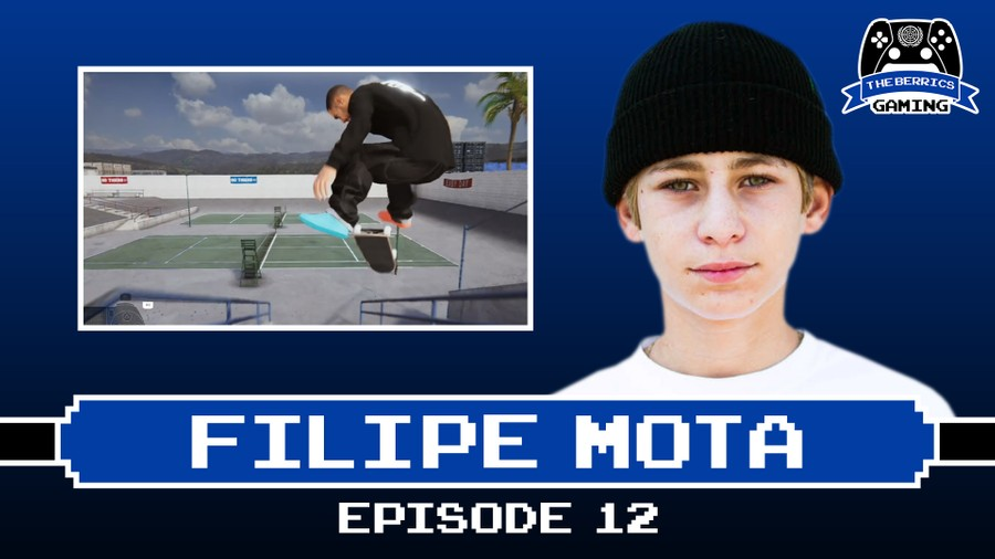 The Berrics Gaming Episode 12 With Filipe Mota