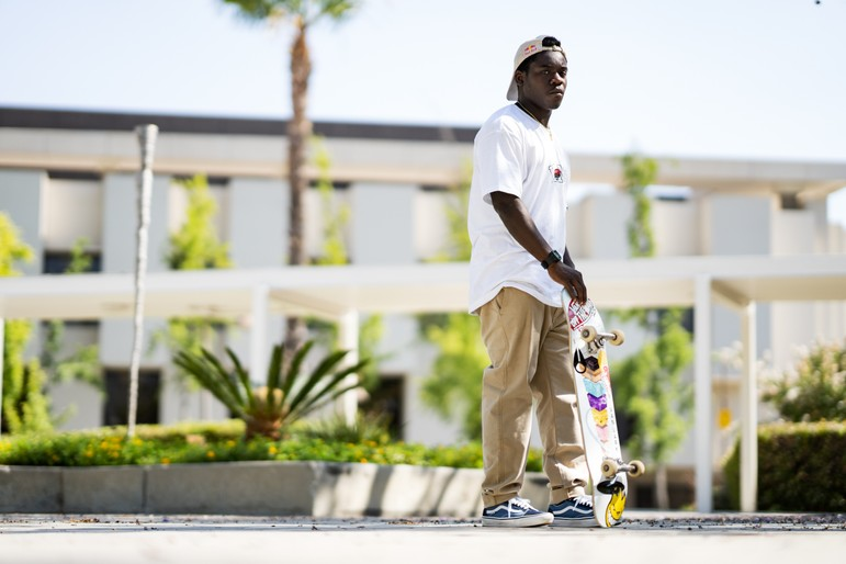 Zion Wright Officially Joins Vans Skate Team