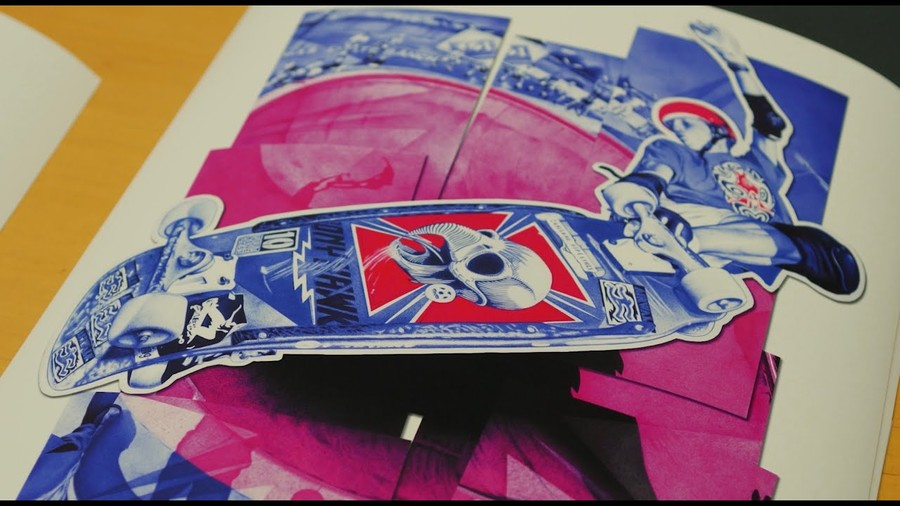 Limited Edition Tony Hawk Prints By Paul Kobriger & J. Grant Brittain Available Now
