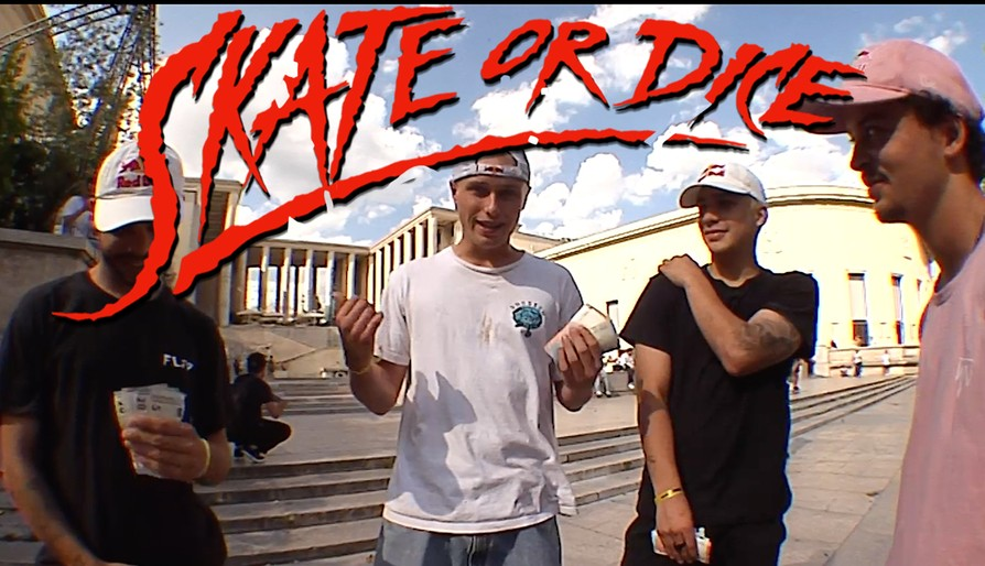 Skate Or Dice! In Paris With Red Bull's Jake Wooten