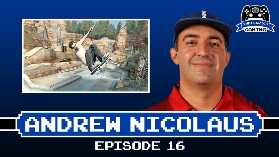 Berrics Gaming Show #16 With Andrew Nicolaus
