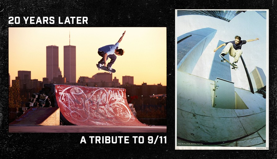 9/11 Moment Of Silence: A Skateboarding Photo Tribute
