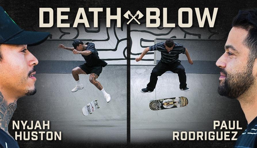 BATB 12 Death Blow: Nyjah Huston Vs. Paul Rodriguez