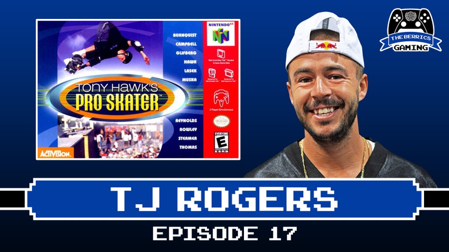 Berrics Gaming #17 With TJ Rogers