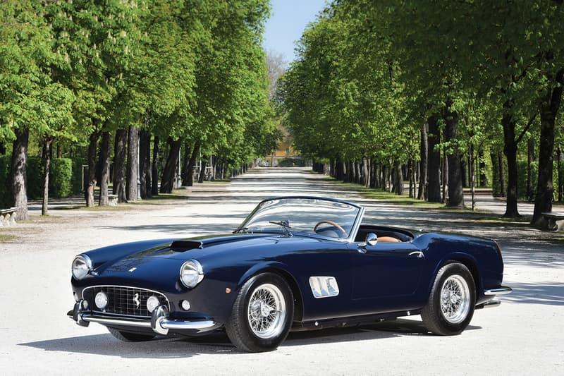 法拉利古董车:1960年 Ferrari 250 GT SWB California Spider-WeCar-买车选车养车改装车就来WeCar