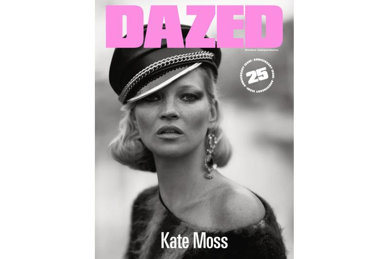 Marilyn Manson Kate Moss and More Cover 'DAZED' 25th Anniversary Issue